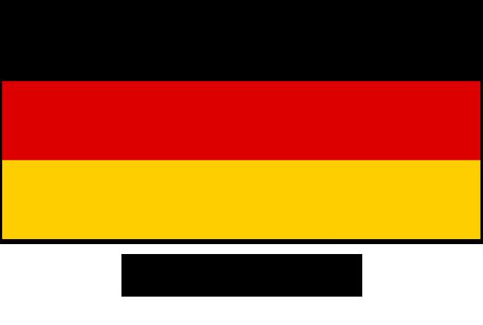 learn a language - german flag