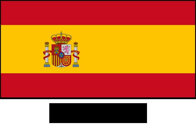 learn a language - spanish flag